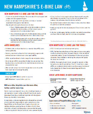 NH Bike Laws