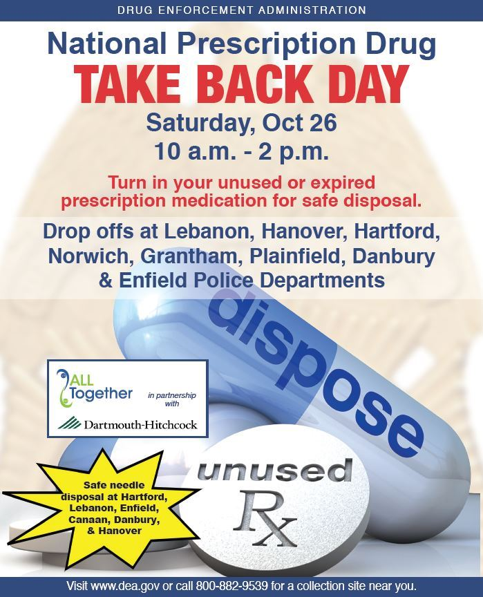 Drug Take Back Day 10-26 Poster