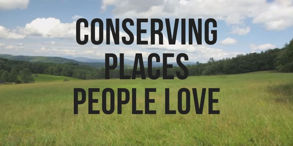 Conserving Places People Love