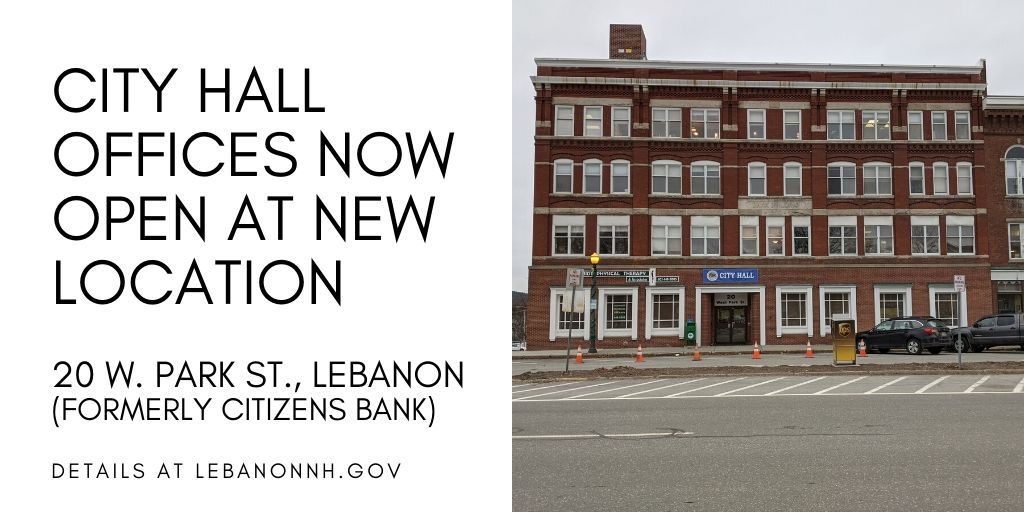 City Hall offices now open at new location