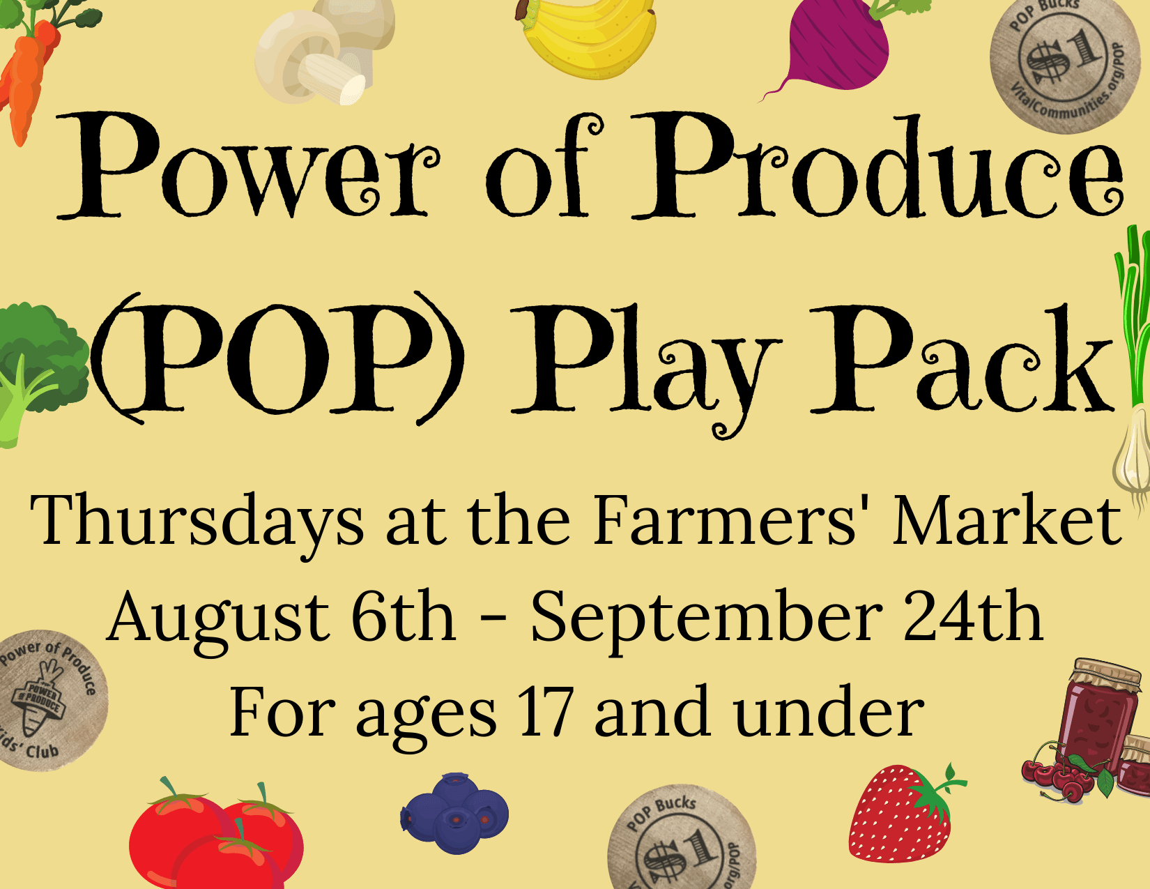 POP Play Pack ad