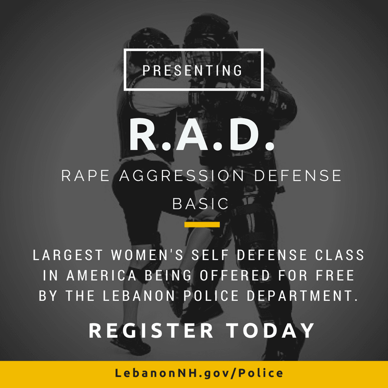 R.A.D. Announcement