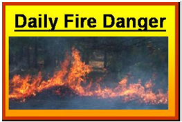 Daily Fire Danger - View the latest Fire Danger Ratings
