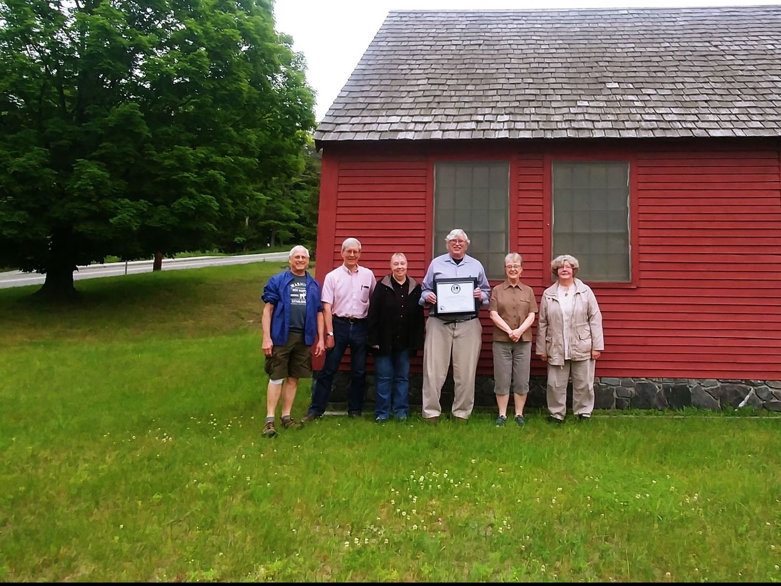 Heritage Commission Members at Dana House